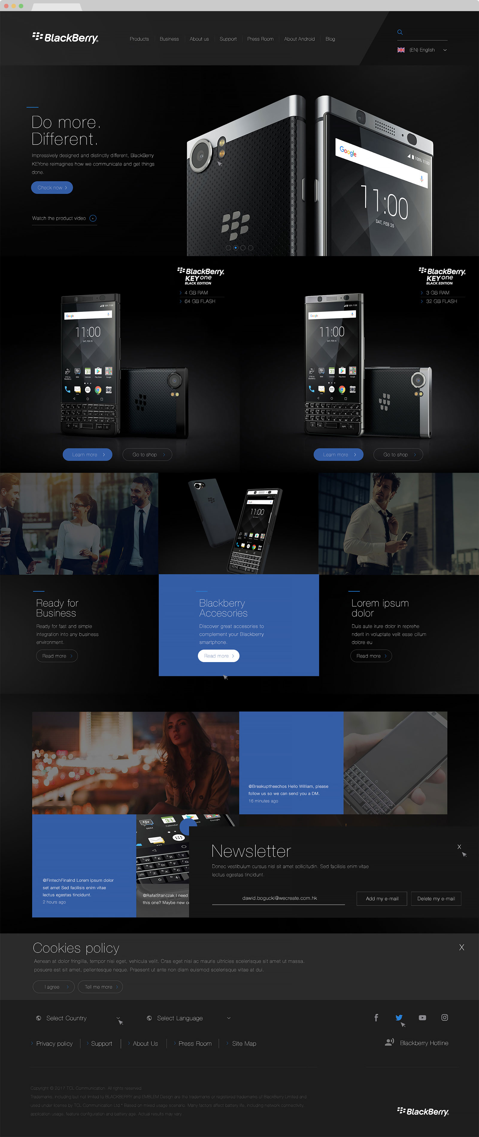web design hk blackberry 02 - BlackBerry