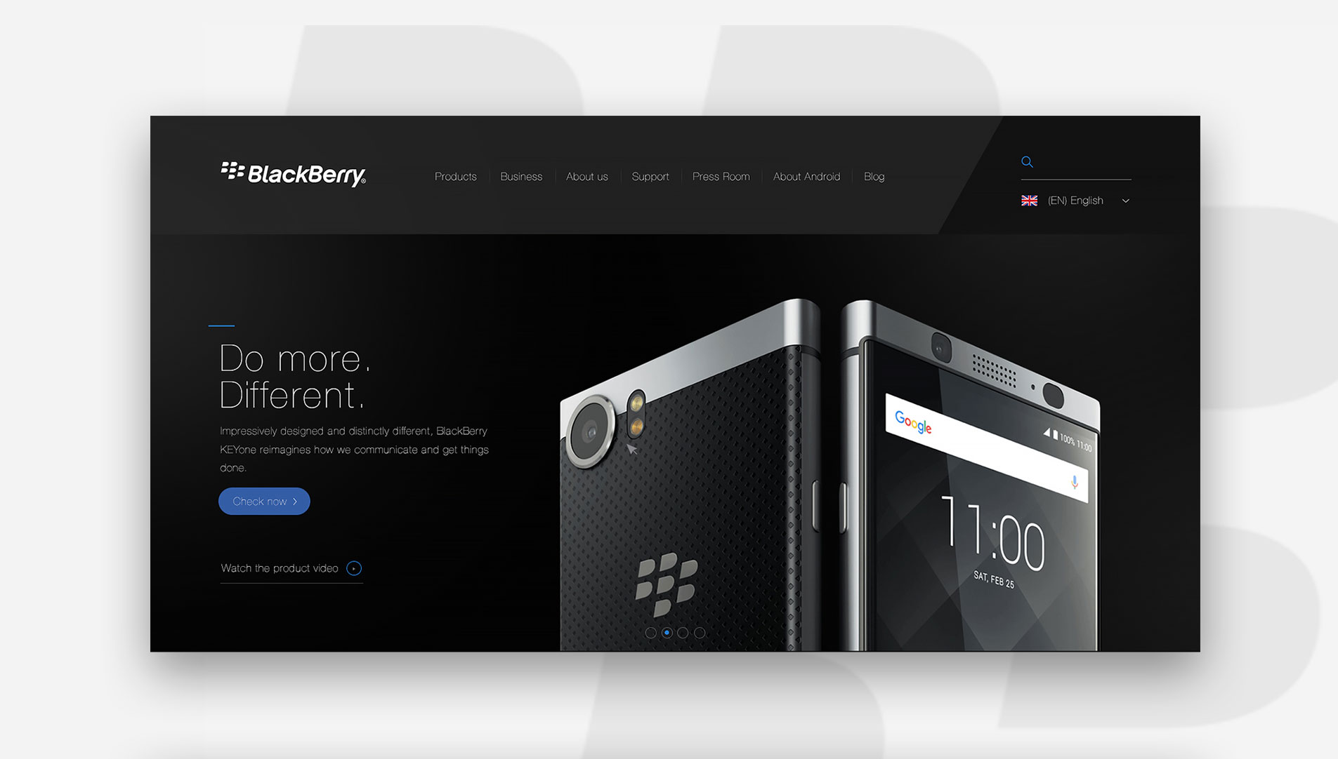 web design hong kong BlackBerry slideshow 01