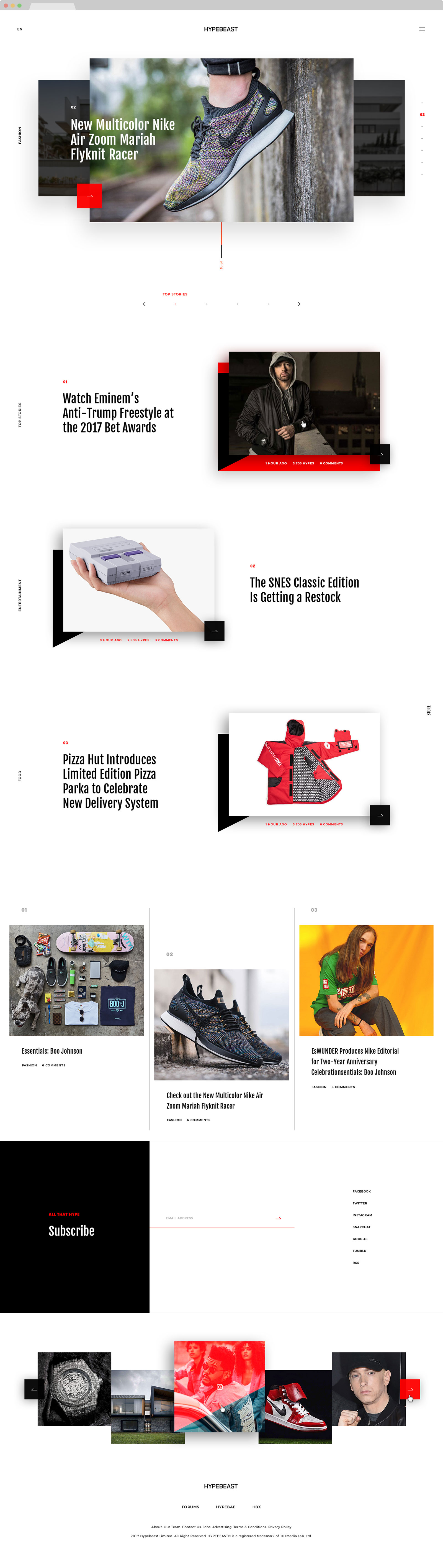 web design hk Hypebeast 00