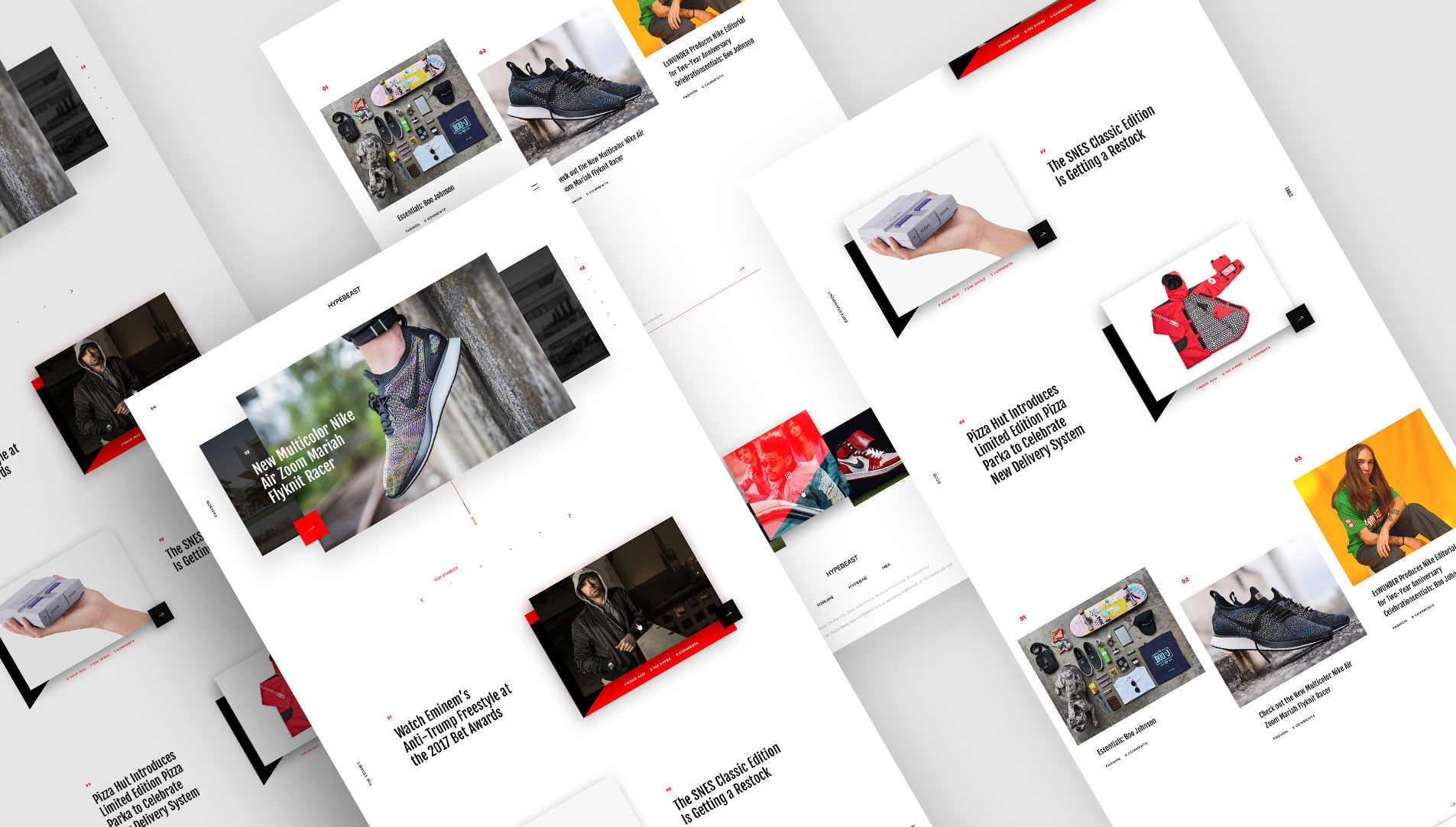 web design hong kong Hypebeast slideshow 00