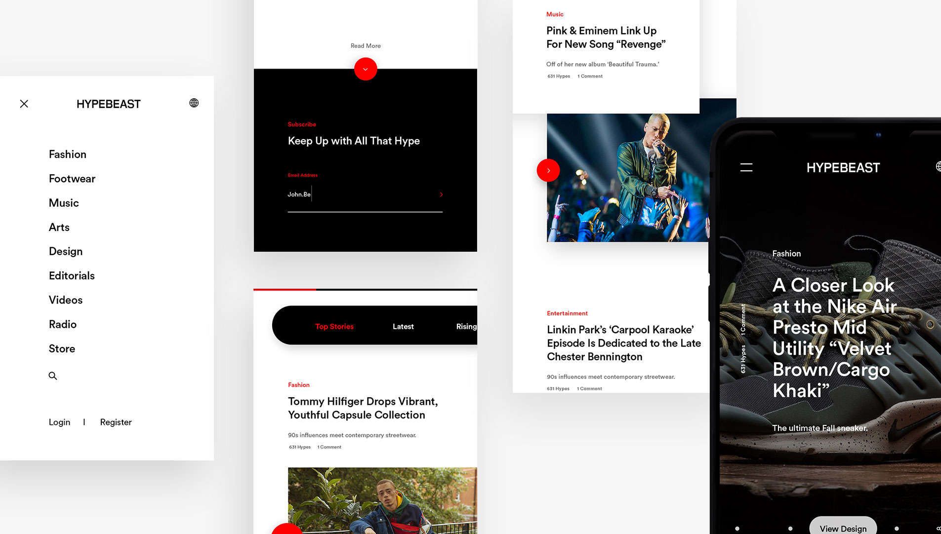 web design hong kong Hypebeast slideshow 02