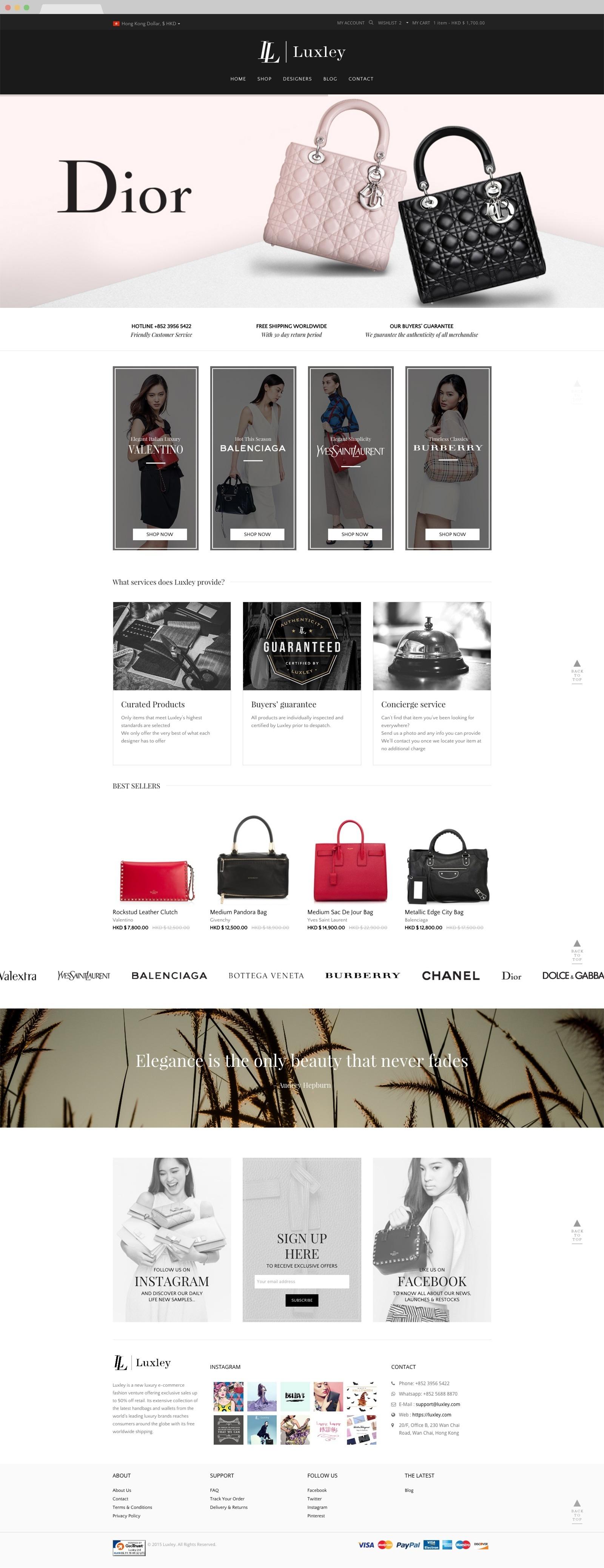web design hk luxley 00