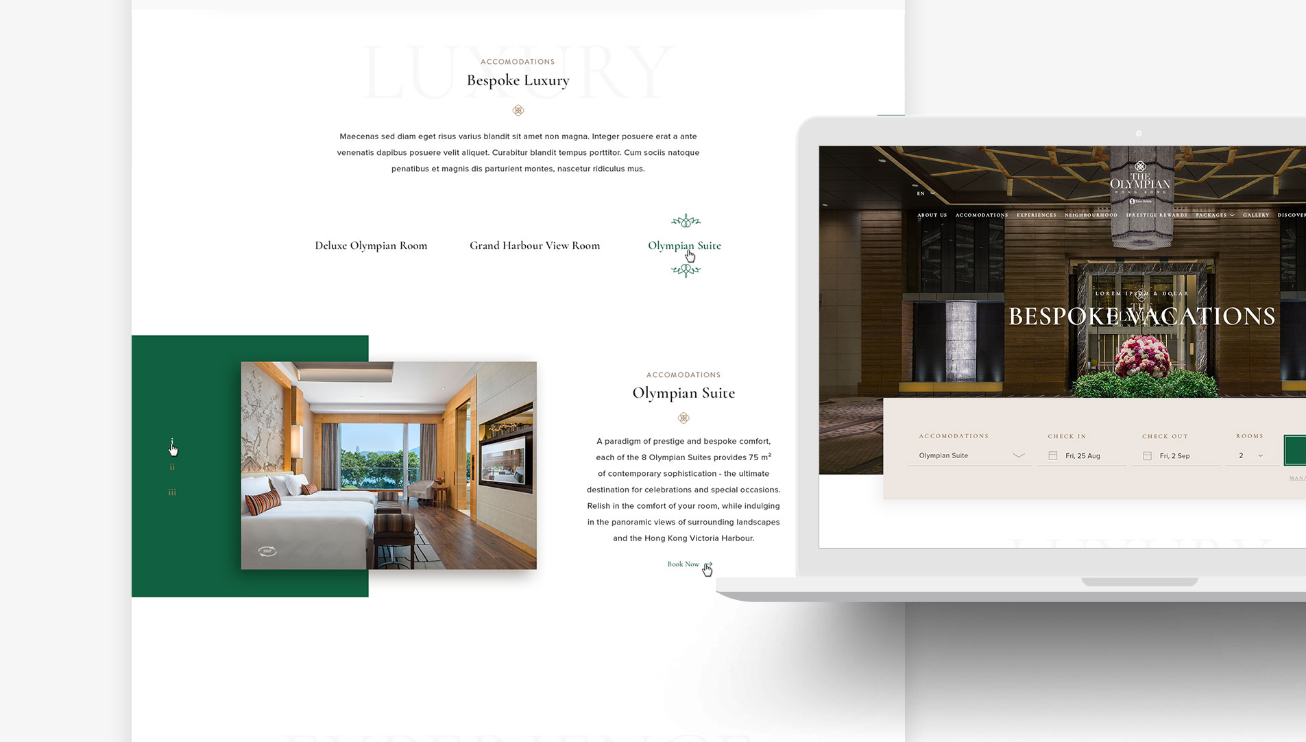 web design hong kong Sino Group Hotels slideshow 03