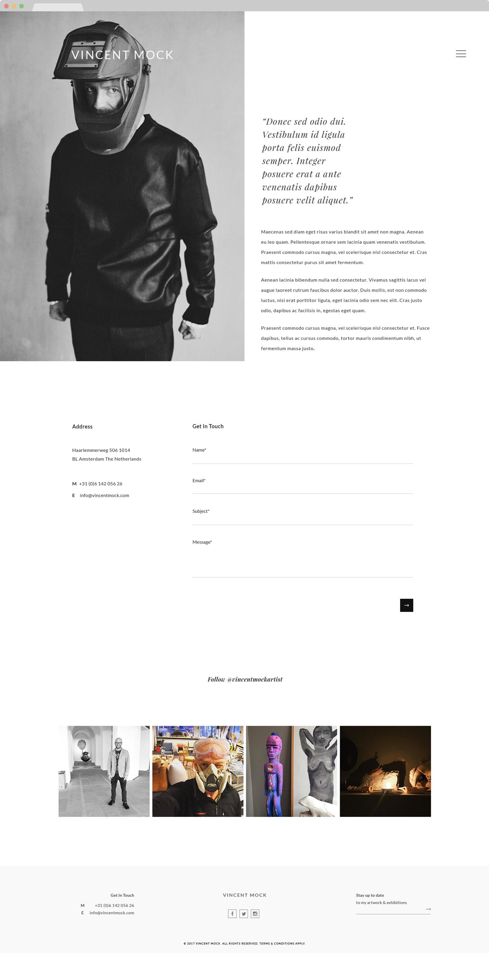 web design hk vincent mock 01