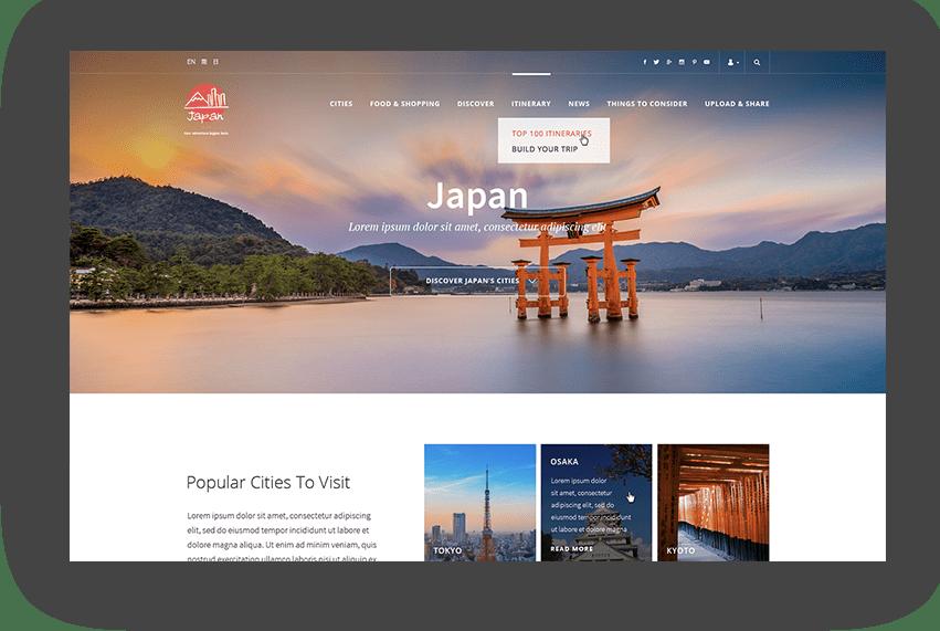 web design hong kong jp 03 - Advertising Agency WECREATE HK